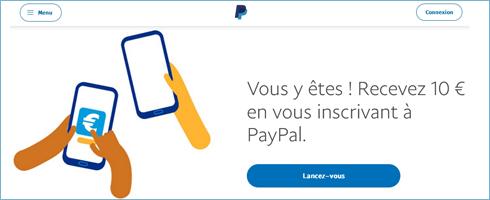 La période promotionnelle se termine le 31 décembre 2021. Le montant de la récompense est de 10,00 euros. Ouvrez un compte PayPal et effectuez un paiement PayPal en ligne d'au moins 5,00 euros.