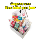 Jeu concours - A gagner : des Box ABC BABY de 35 à 70 euros et 350 euros en chèque cadeau Aubert